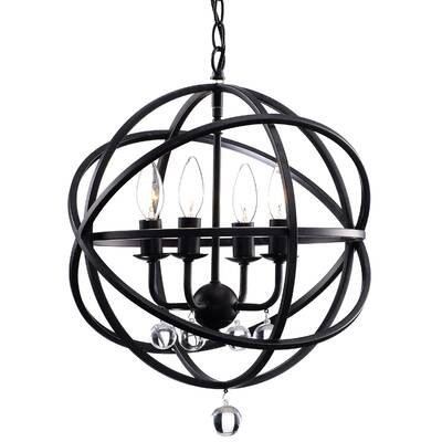 Willa Arlo Interiors Joon 6 Light Globe Chandelier Reviews