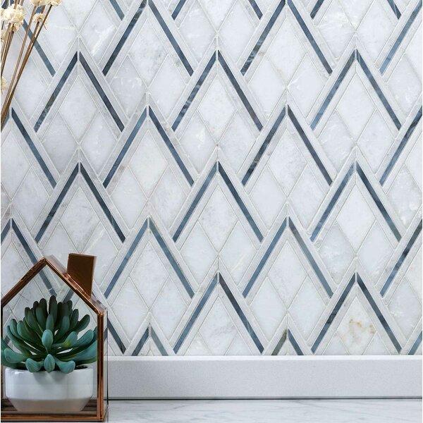 Chevron Marble Tile Wayfair