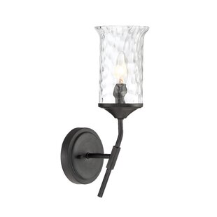 Fleur De Lis Living Shafer 1-Light Armed Sconce