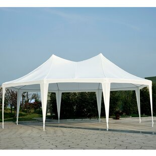 Outsunny 16.5 Ft. W x 23 Ft. D Steel Party Tent