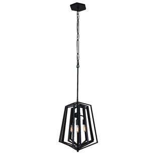 Varaluz Gymnast 3-Light Geometric Chandelier