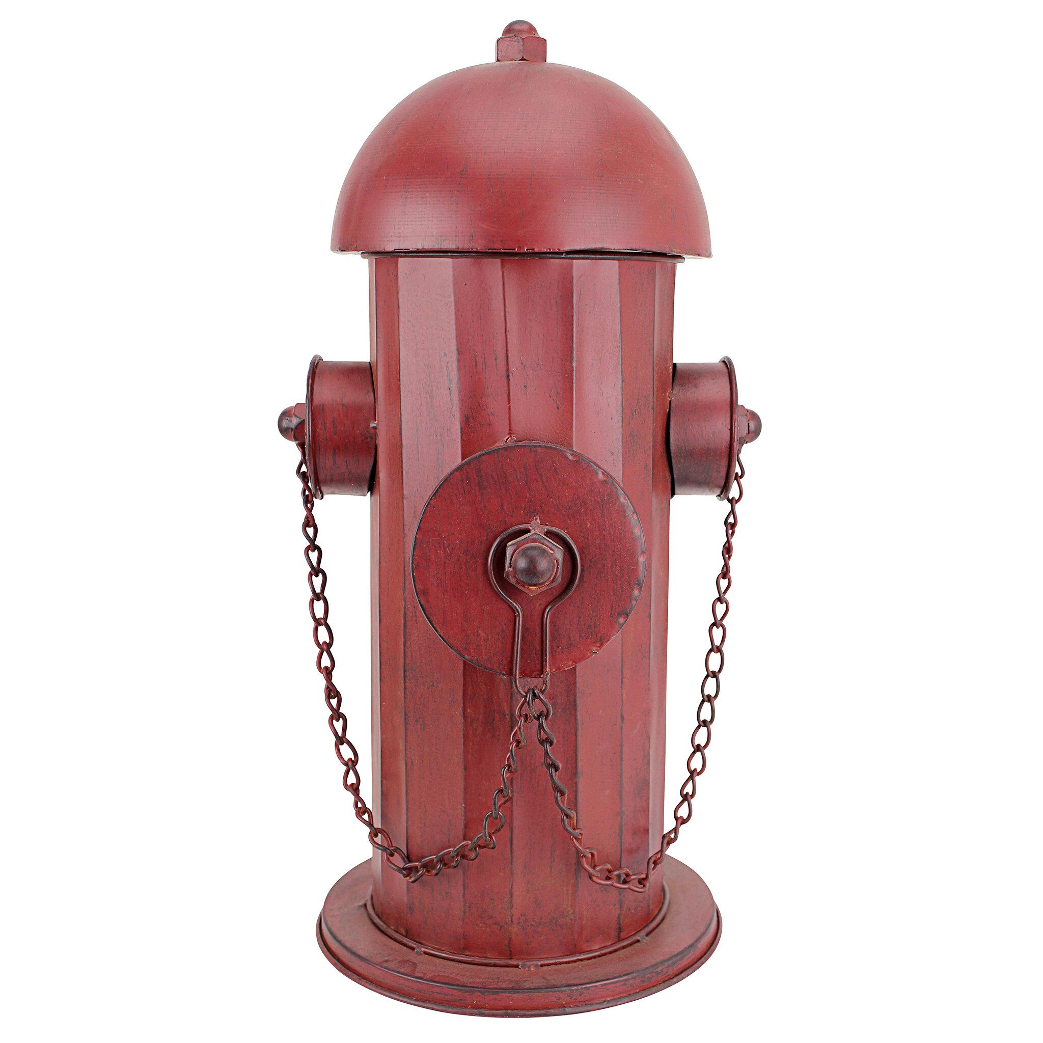 design toscano medium metal fire hydrant statue reviews wayfair
