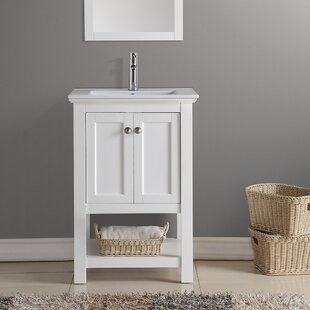 Reviews Manchester 24 Single Bathroom Vanity By Fresca