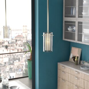 Downey 1-Light Cylinder Pendant by Wade Logan