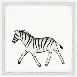 Jovani Walking Zebra Canvas Art by Viv   Rae