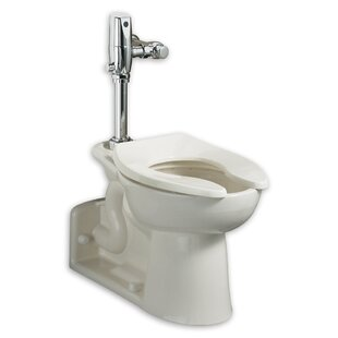American Standard Pressure Assist Dual Flush Elongated One-Piece Toilet (S..