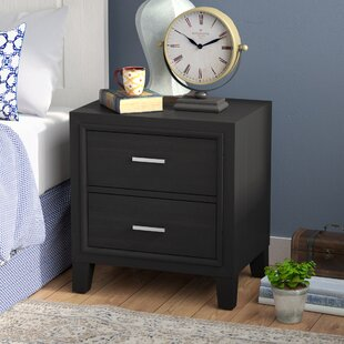 Weatherspoon 2 Drawer Nightstand by Charlton Home