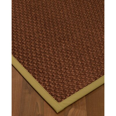 What Size Rug Pad For 8x10 Rug.Kerrick Border Hand Woven Brownkhaki Area Rug Bayou Breeze