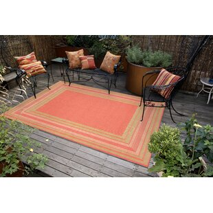 Clatterbuck Etched Pink Indoor/Outdoor Area Rug