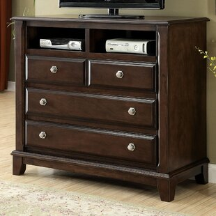 Luanne 4 Drawer Media Chest