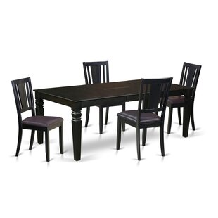 Applebaum 5 Piece Dining Set DarHome Co