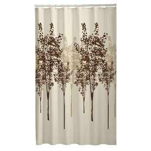 Tree Fabric Single Shower Curtain