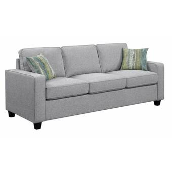 Brilliant Ivy Bronx Mcloughlin Wooden 3 Seater Sofa Wayfair Evergreenethics Interior Chair Design Evergreenethicsorg