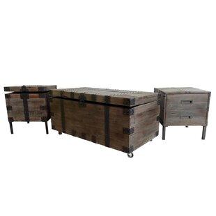 Claude 3 Piece Coffee Table  Set
