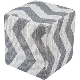 Osborne Cube Ottoman by Red Barrel Studio