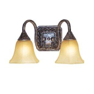 Basic 2-Light Vanity Light by Woodbridge Lighting