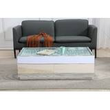 Guillermo Crystal Coffee Table by Rosdorf Park