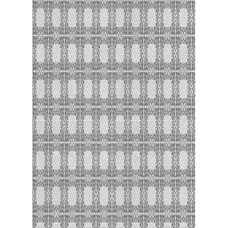 East Urban Home Patterned Gray Area Rug Wayfair