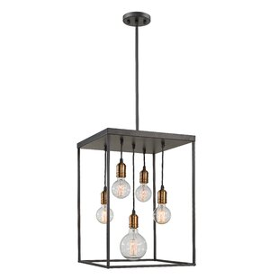 Williston Forge Crepeau 5-Light Square/Rectangle Chandelier
