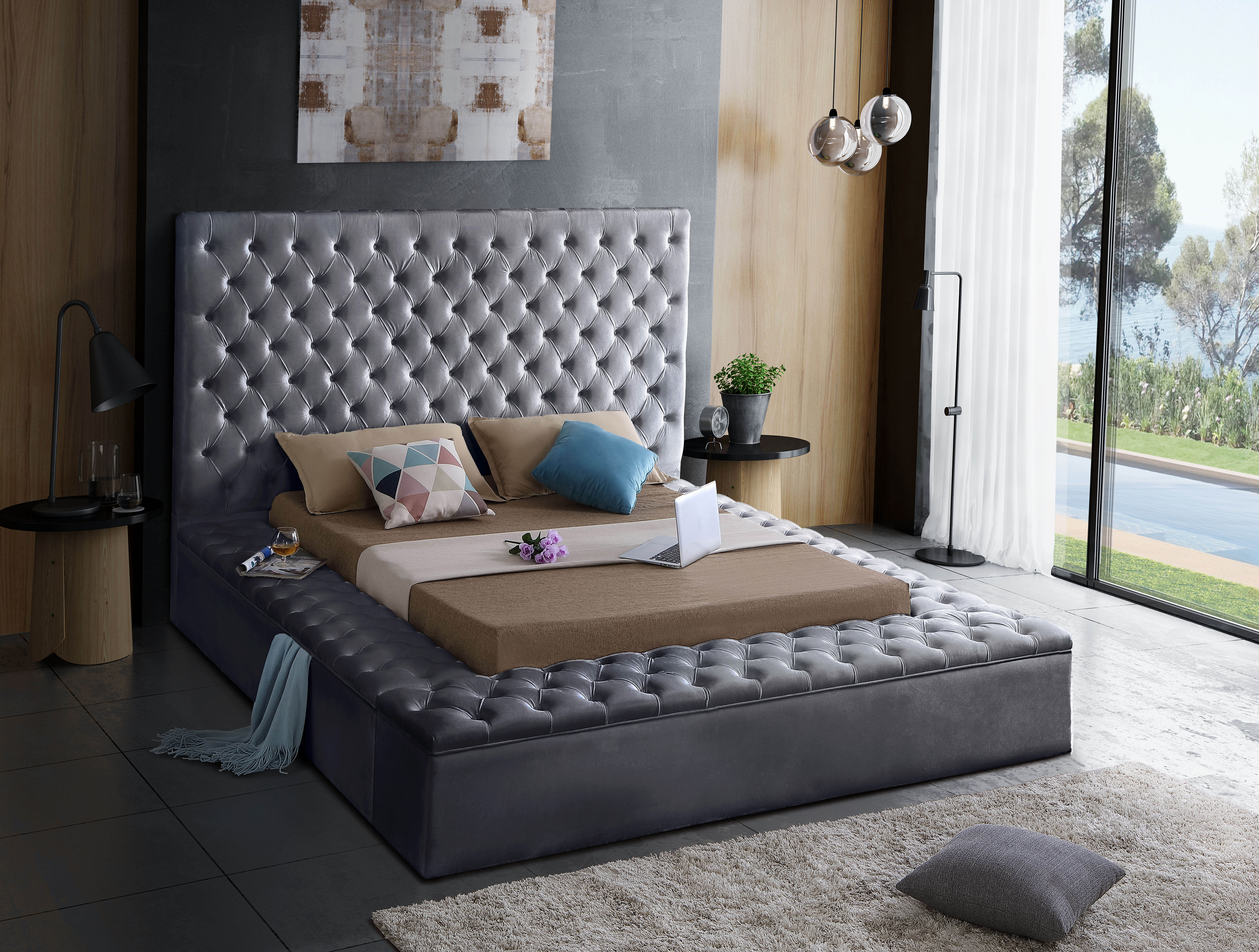 Willa Arlo Interiors Geralyn Upholstered Storage Platform Bed Reviews Wayfair