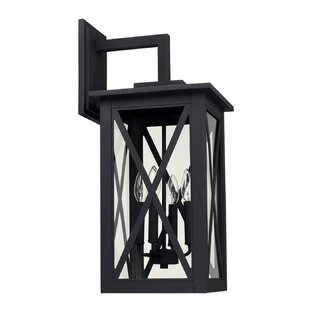 Aticus 4-Light Outdoor Wall Lantern by Al..