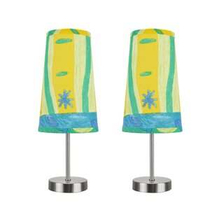 Remington Contemporary Candlestick Table Lamp set (Set of 2)