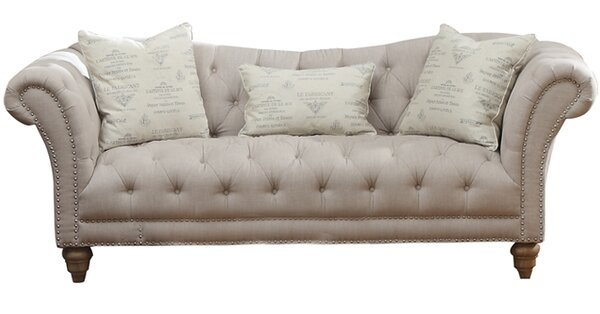 Versailles Chesterfield Sofa Reviews Birch Lane