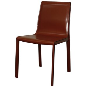 Gervin Recycled Leather Side Chair (Set o..