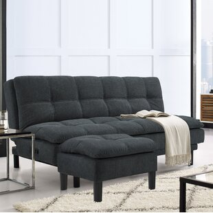 Serta Futons Myers Convertible Sofa with Ottoman