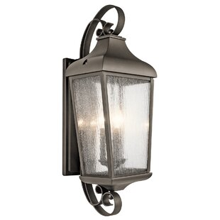Affordable Harpole 3-Light Outdoor Wall Lantern By Three Posts
