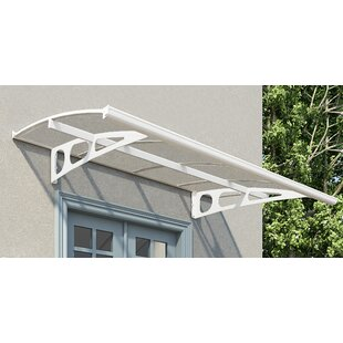 Bordeaux 2230 7 ft. W x 4.5 ft. D Door Awning by Palram