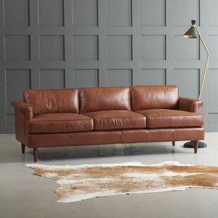 Wayfair Custom Upholstery? Carson Leather Sofa