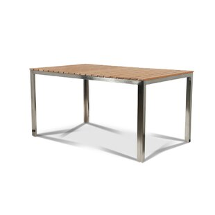 Pamala Solid Wood Dining Table by Orren Ellis
