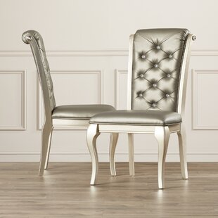 Lane Upholstered Dining Chair (Set Of 2) by House of Hampton Amazing