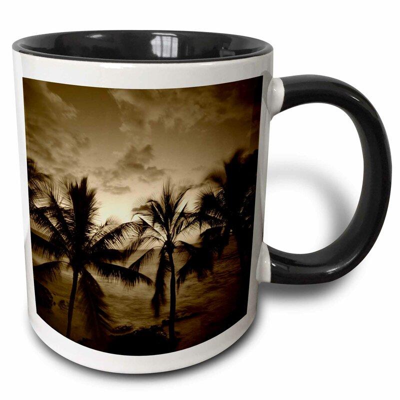 East Urban Home Beach Palm Trees Kona Hawaii Usa Stuart Westmorland Coffee Mug Wayfair