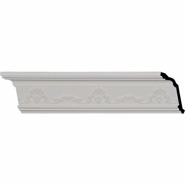 Ekena Millwork Versailles 4 3 8 H X 96 1 8 W X 3 1 4 D Crown Moulding Wayfair