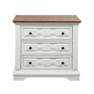 Bond 3 Drawer Nightstand by Alcott Hill