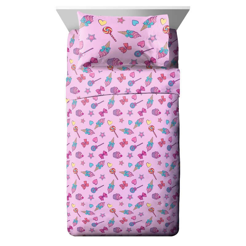 Jojo Siwa Bow Sweet Reversible Cushion Childrens Cushion Bedroom Decor New