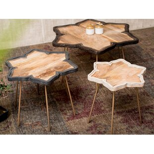 Worley 3 Piece Coffee Table Set By World Menagerie
