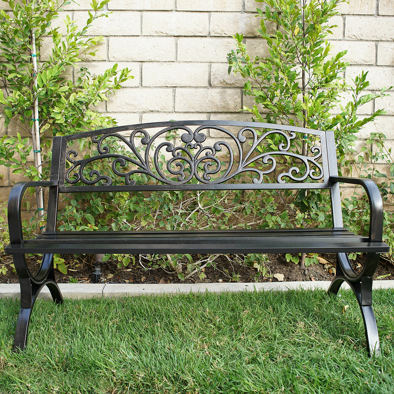 image metal park white and patiowhite galvanized for bencheswhite of steel benchwhite rounded outdoor awful patio saleantique full bench garden size pictures concept with benches