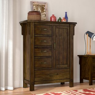 Loon Peak Baird 5 Drawer Gentleman's Ch..