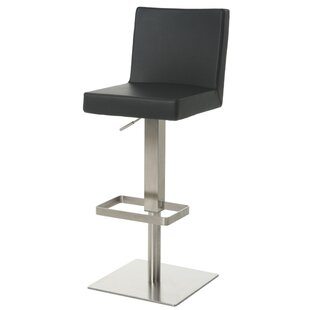 Kaohsiung Adjustable Height Swivel Bar Stool Impacterra