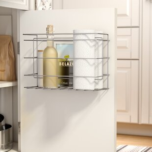Andover Mills Mullinax Double Compartment Kitchen Cabinet Door Organizer