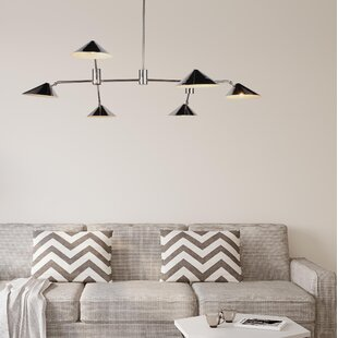 Corrigan Studio Donte 6-Light Sputnik Chandelier