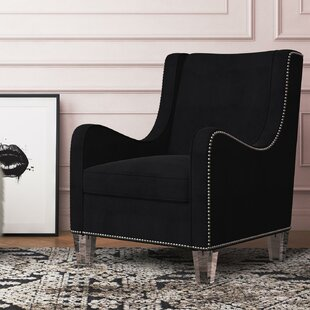 Nixon Wingback Chair by CosmoLiving by Cosmopolitan