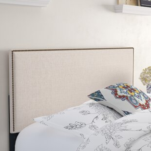 Price Check Unger Square Upholstered Headboard by Charlton Home