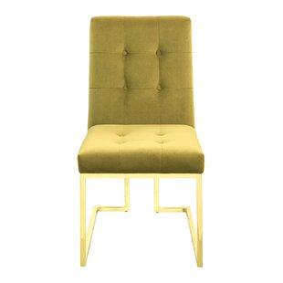 Mercer41 Tenny Upholstered Dining Chair (Set of 2)