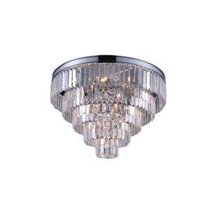 Weiss 7-Light Flush Mount by CWI Lighting
