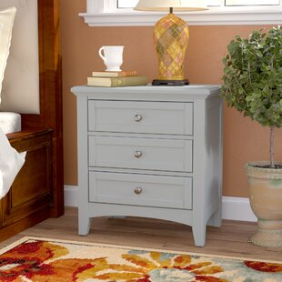 Gastelum 3 Drawer Nightstand