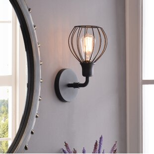Online Reviews Krouse 1-Light Armed Sconce ByWilliston Forge